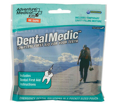 Dental Medic Pouch Adventure Medical Kits First Aid for Teeth and Oral Injuries