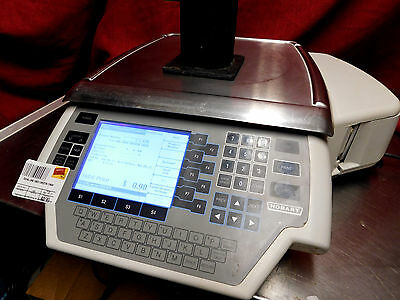 EXCELLENT THROUGHLY CLEANED! Hobart Quantum deli Scale Printer 29032-BJ #744