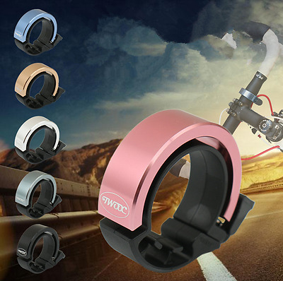New 90db Ring Alarm Loud Horn Aluminum Alloy Mountain Bicycle Bike Handlebar