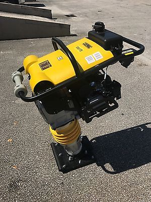 CORMAC tamping rammer compactor model RM75, 6.5 Hp gasoline