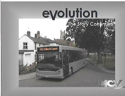 MCV BUS AND COACH LTD. EVOLUTION SALES BROCHURE FOR THE 2000's