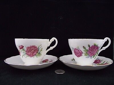 Tea For Two  Tea Cup And Saucer Regency Bone China