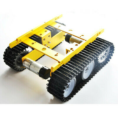 T100 DIY WIFI Smart Tank Chassis Intelligent Aluminum Robot Car For Arduino