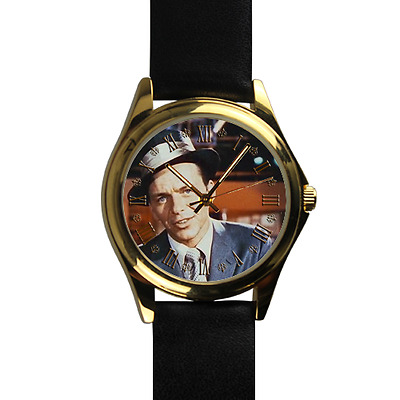 NEW Frank Sinatra Watch JAZZ Music Watch Great Genuine Leather Strap Wrist Watch