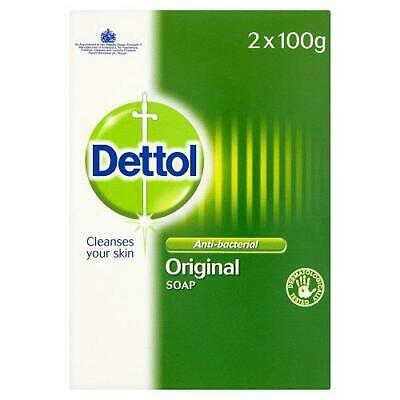 Dettol Anti-bacterial Original Soap Twin Pack 2 x 100g 1 2 3 6 Packs