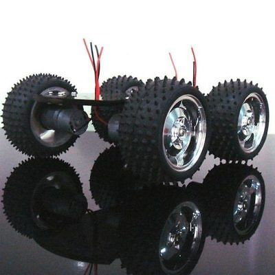 4WD Smart Robot Car Chassis Kits Metal Motor Large Torque For Arduino