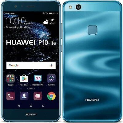 New Huawei P20 Lite 64GB Black 4GB RAM 16MP NFC Android Mobile Phone