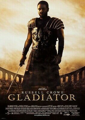Gladiator Poster A4 A3 A2 A1 Cinema Movie Large Format Art Design