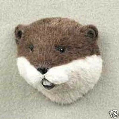 BEAVER! Collect Fur Magnets (Handcrafted & Hand painted). BEAUTIFUL PIECE OF ART