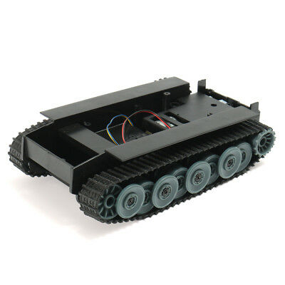 DIY Smart Robot Car Smart Germany Tank Track Rubber Chassis For Arduino