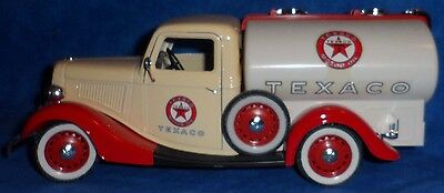 SOLIDO PRESTIGE TEXACO 1936 Ford Citerne Truck Tanker with decals white/red  E1