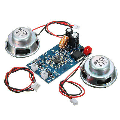 Bluetooth Audio Display Wireless Amplifier Receiver Board With 2 Speakers For Ba