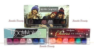 China Glaze Nail Lacquer- MINI PACKAGES 3.6ML X 6 COLORS - Choose Your Colors