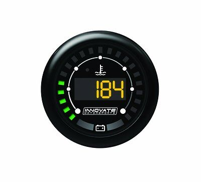 Innovate 3853 MTX D: Digital, Water temperature e Battery Voltage Gauge (l8u)