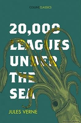 20000 Leagues Under the Sea 9780008195526 Jules Verne Paperback New Book Free UK