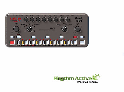 Cyclone Analogic Beat Bot Tt-78 Synthesizer Drum Machine Clone Roland Cr-78