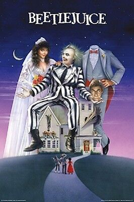 Beetlejuice Movie One Sheet POSTER (61x91cm) Picture Print New Art