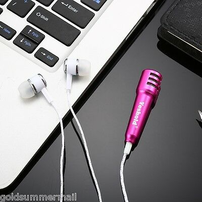 Yeshold 3.5mm Wired Stereo HiFi Earphones with Mini Mic for Karaoke clear music