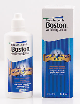 120ml Bausch & Lomb Boston Advance Comfort Formula Conditioning Solution B&L