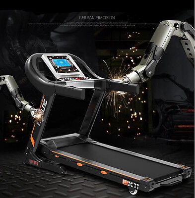 Running Machine Folding Electronic Treadmill Gym Equipment Fitness