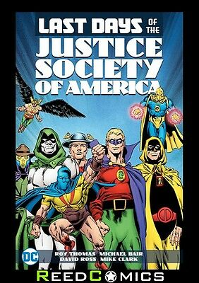 LAST DAYS OF THE JUSTICE SOCIETY OF AMERICA GRAPHIC NOVEL Paperback *336 Pages*