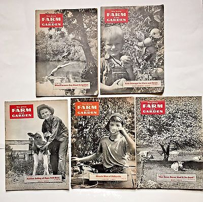 Vintage New Jersey Farm and Garden Magazine New Jersey Farming 1953