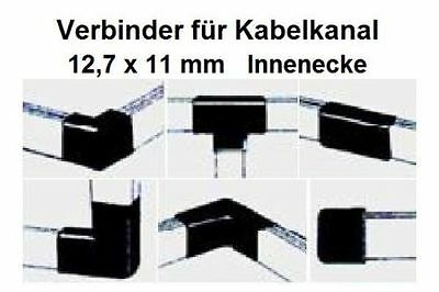 Connector Inside Corners for Cable Channel 12, 7x11mm/Please Colour Select