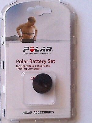 Genuine Polar Wearlink/H1/H2/H6/H7/H10 Transmitter battery set and battery cover