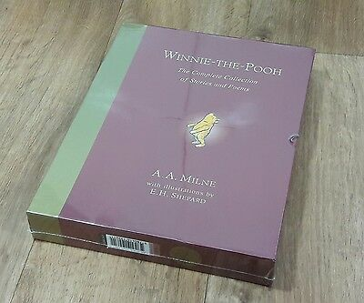 Winnie The Pooh Complete Collection Stories And Poems Brand New Hardback Book