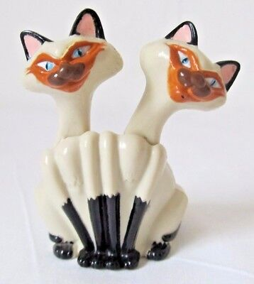 Disney Lady and The Tramp Siamese Cat Toy Cake Topper