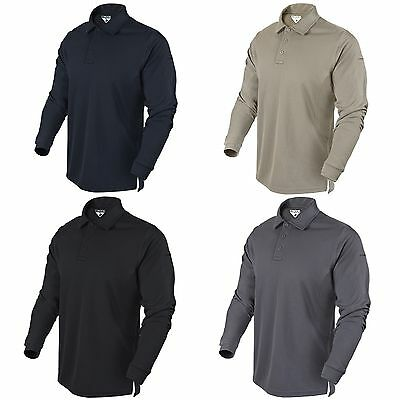 Condor Performance Long Sleeve LS Athletic Tactical Polo Shirt 101120 S-XXL