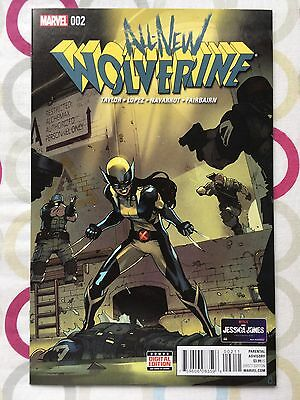 All New Wolverine #2 » NM » 1st Appearance of Gabby » 1st Print » Marvel » X-23