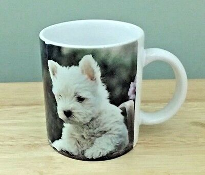 Xpres West Highland White Terrier 1994 Coffee Tea Mug Barbara Augello V2