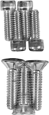 Individual Chrome Socket-Head Bolt Set Drag Specialties MK137 Bolt Kit