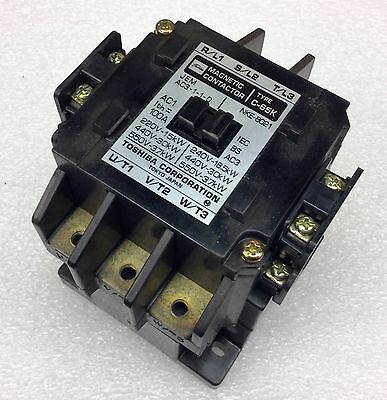 Toshiba C-65K 110V Coil Magnetic Contactor 100A New No Box