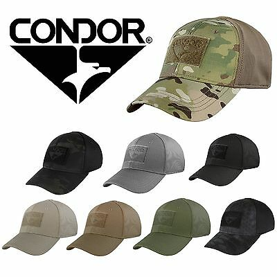 Condor 161080 Tactical Flex Fit Military Combat Fitted Hat Baseball Cap Hat