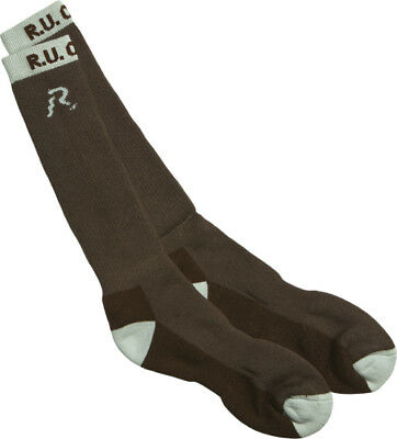 R.U. Outside Bill Townsend Chinook Socks - BTSOCKLG ( Brown - Size Large )