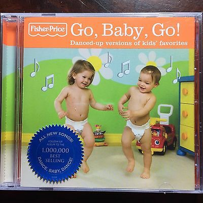 NEW Fisher Price - Go Baby Go by Various Artists CD Children Dance Songs