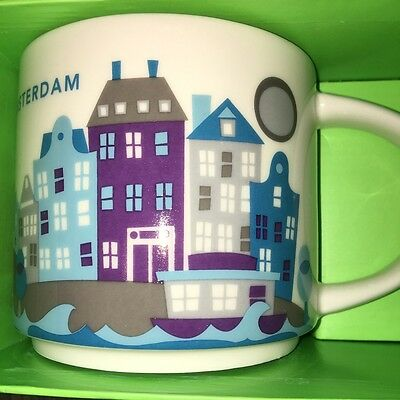 Starbucks City Mug, AMSTERDAM, «You Are Here» Collection, 14oz.