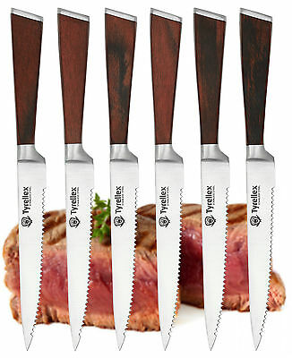 Tyrellex 6 Piece Steak Knife Set