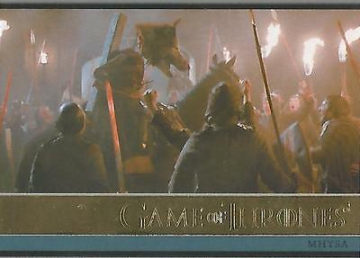 Game of Thrones Season 3 - No. 28 GOLD Parallel Base Card #131/150