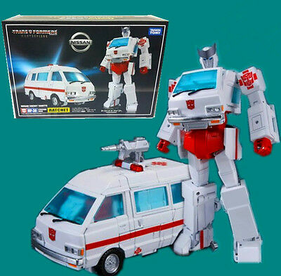 """Transformers MP30 G1 Ratchet  8"""" Toy Action Figure New in Box"""