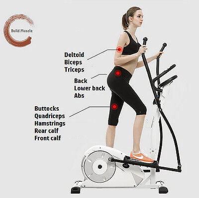 Pro Elliptical Cross Trainer New Home Gym Fitness Magnetic