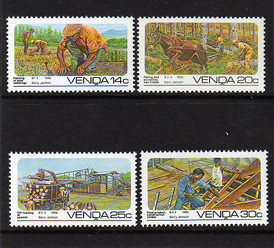Venda 1986 Forestry MNH