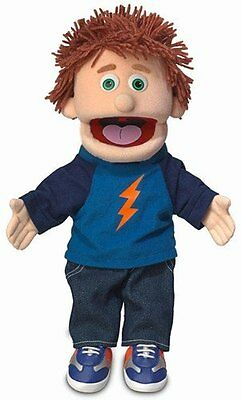 """14"""" Tommy Peach Boy Hand Puppet Pretend Play Educational Toy Free Shipping"""