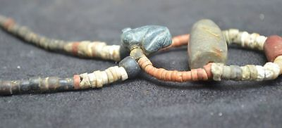 Pre Columbian nice necklace with a Frog pendant, Columbia Tairona culture