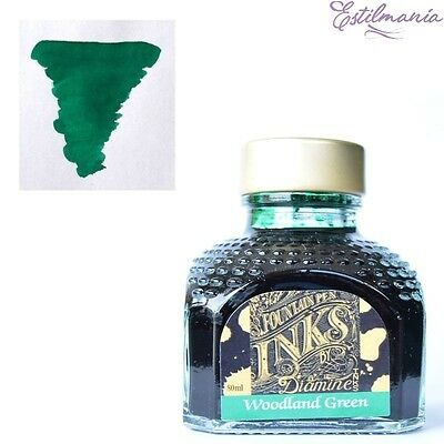Diamine Woodland green 80 ml.