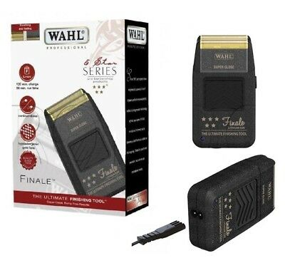 Wahl 5 Star Series Finale Shaver, Lithium Ion, 3 Pin Plug Uk  Voltage