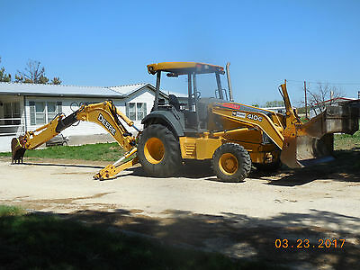 2005 John Deere 410G Loader/Backhoe, 4WD,18+36 Buckets,Service Records Since New