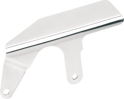 Drag Specialties Shorty Upper Belt Guard - Stainless 1202-0018